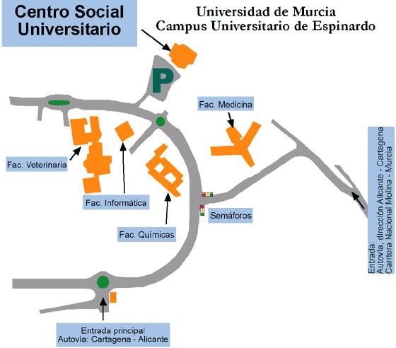 plano acceso al centro social
