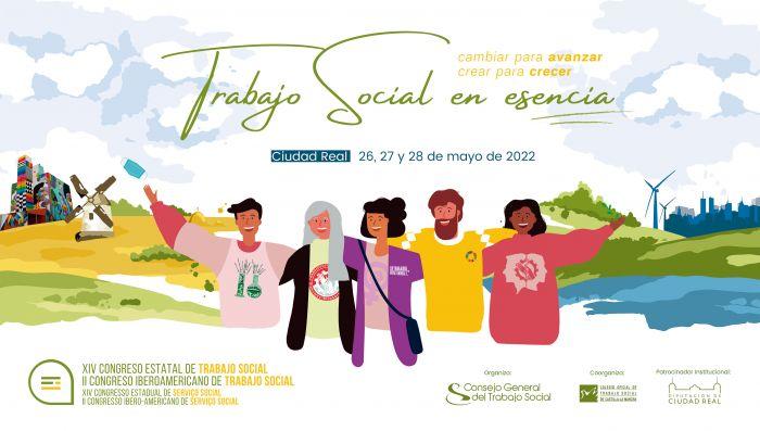 Portal del Consejo General del Trabajo Social - XIV Congreso Estatal y II  Iberoamericano de Trabajo Social 2022: inscripciones abiertas